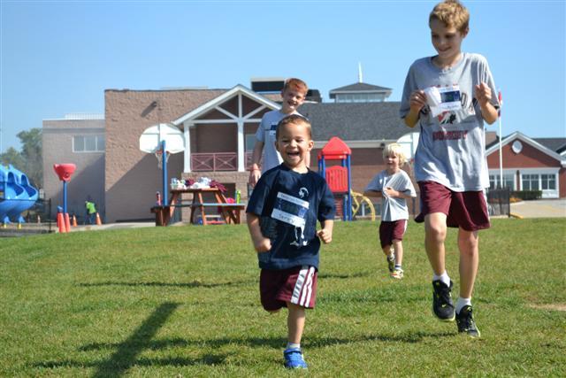Glenburnie School's Terry Fox Run