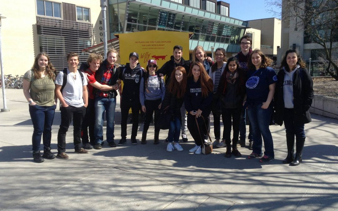 King's Christian Collegiate Visits McMaster