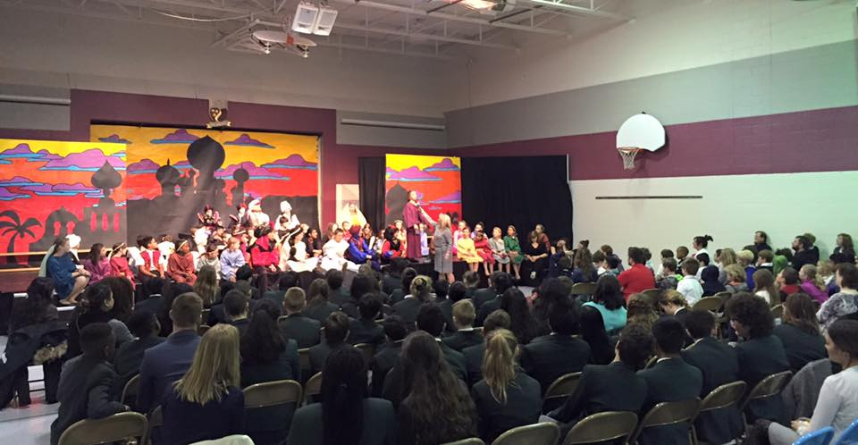 Glenburnie Students Perform in Aladdin