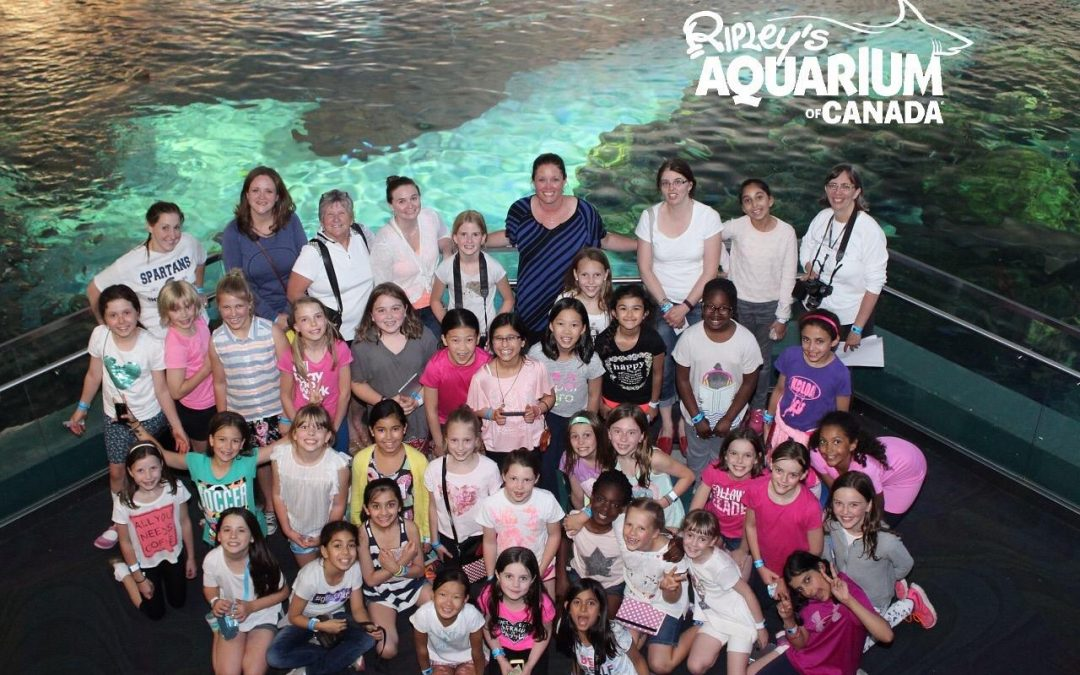 St. Mildred's Students Stay the Night at Ripley's Aquarium