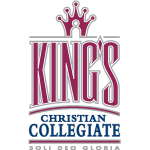 King's Christian Collegiate logo - motto: Soli Deo Gloria