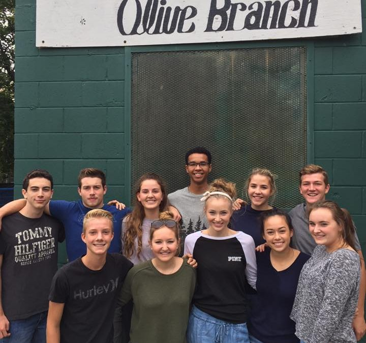 King's Christian College Students Volunteer at the Olive Branch Christian Centre