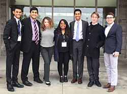 Appleby Students Attend Provincial Qualifier for Senior Debate and Public Speaking