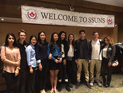 Appleby Students Attend United Nations Symposium