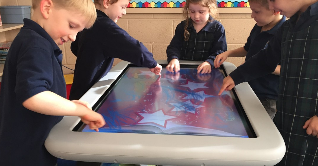SMART Table Collaborative Learning Centre at Oakville Christian School