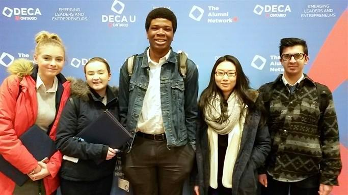 MacLachlan College Students Compete in Provincial DECA Competition