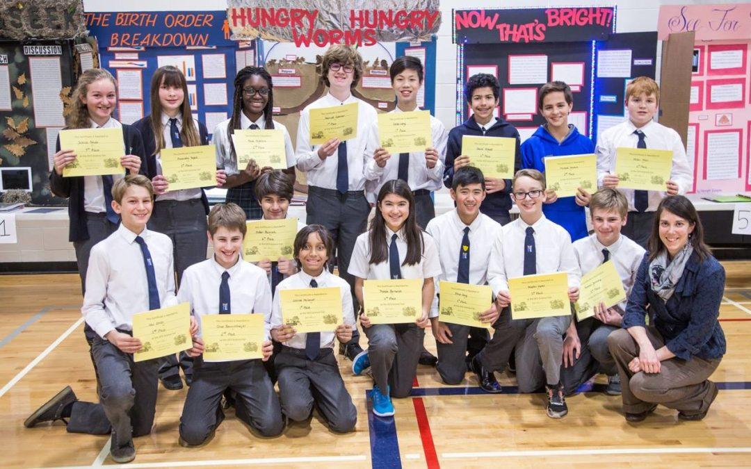 Oakville Christian School Science Fair Success