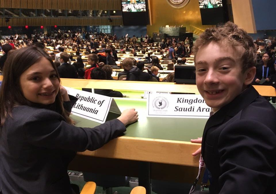 Dearcroft Montessori's Model UN Team Takes NYC