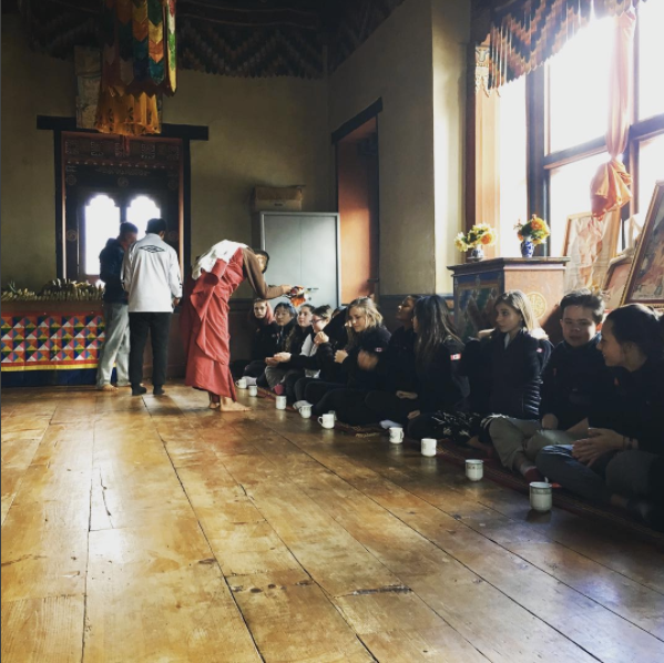 St. Mildred's-Lightbourn School Students Visit Bhutan